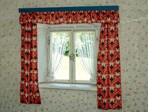 Gardinen Seilspanngarnitur für Fenster und Türen