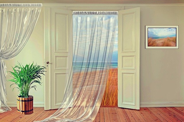Seilspanngarnitur für Gardinen und Vorhänge