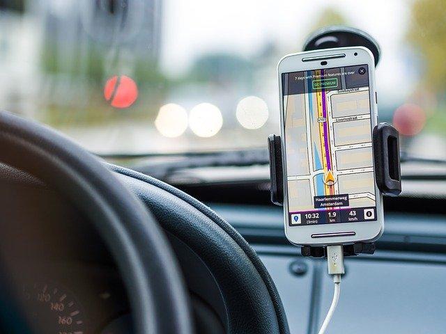 Halterung für Navigationsgeräte