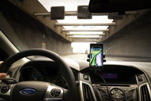Halterung für Navigationsgeräte Test