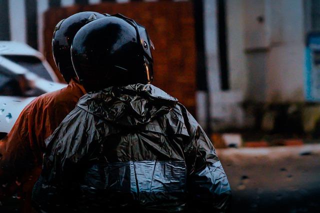 Regenkombi Motorrad